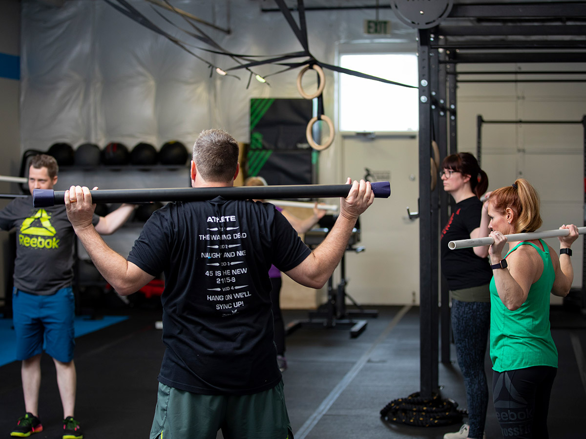 The Quad, group training classes at the gym
