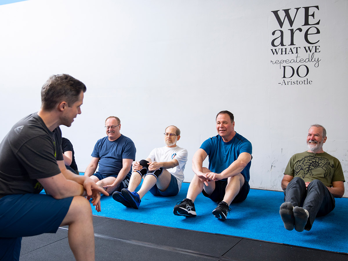 The Quad, group training class