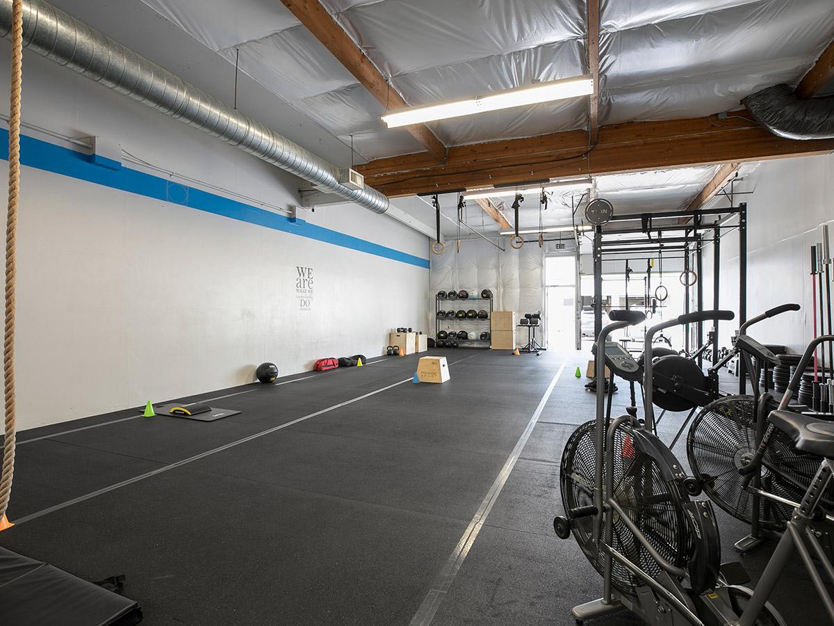 The Quad gym interior
